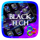 Black Tech Go Launcher Theme v v1.0 app icon