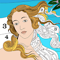 Famous Art Coloring by Numbers icon