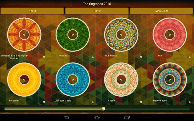 android Top Klingeltöne 2015 Screenshot 2
