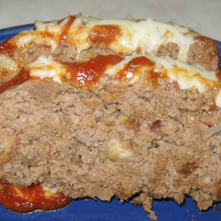 Italian Deer Meatloaf.