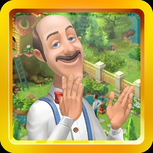 Gardenscapes 새로운 에이커 안내 書籍 App LOGO-硬是要APP