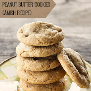 Snickers Stuffed Peanut Butter Cookies {Amish Recipe}.