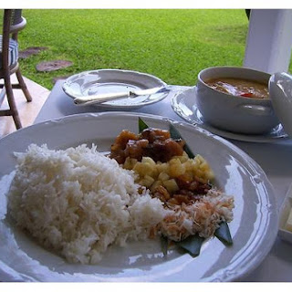 Jasmine Coconut Rice With Mango.