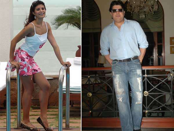 1. Jacqueline Fernandez & Sajid Khan