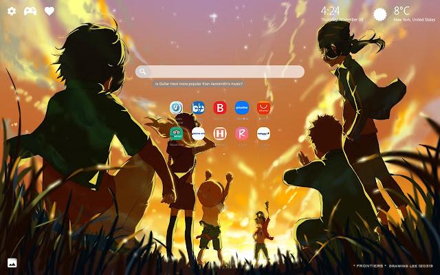 Digimon Wallpapers & Digimon World New Tab