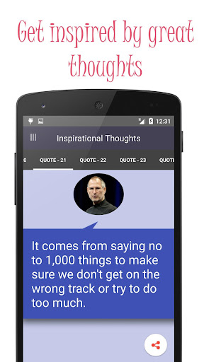 Great Inspirational thoughts