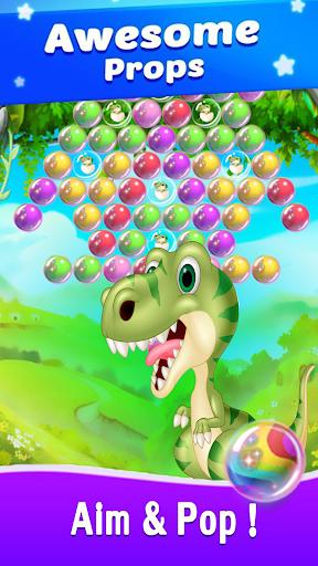 Dinosaur Bubble Shooter Primitive 1.0 screenshots 3
