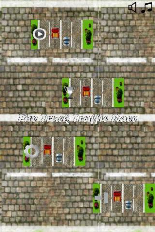 Fire Truck Traffic Race