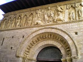 Photo: Etapa 15. Pantocrator. Iglesia de Santiago.Carrión de los Condes