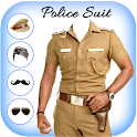 Men Police suit Photo Editor - Police Dresses icon