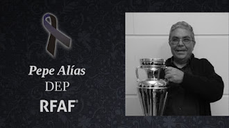 Pepe Alías, un grande de nuestro fútbol.