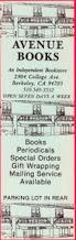 Photo: Avenue Books