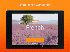 Screenshot of Learn French with Babbel