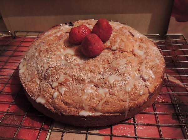 Strawberry Buttermilk Sponge Recipe