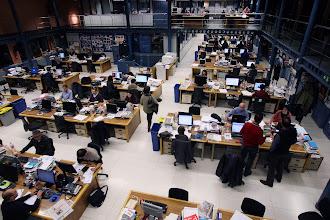 Photo: Barcelona 11/02/2013 On line  Redaccion de El Periodico de Catalunya. Foto de RICARD CUGAT