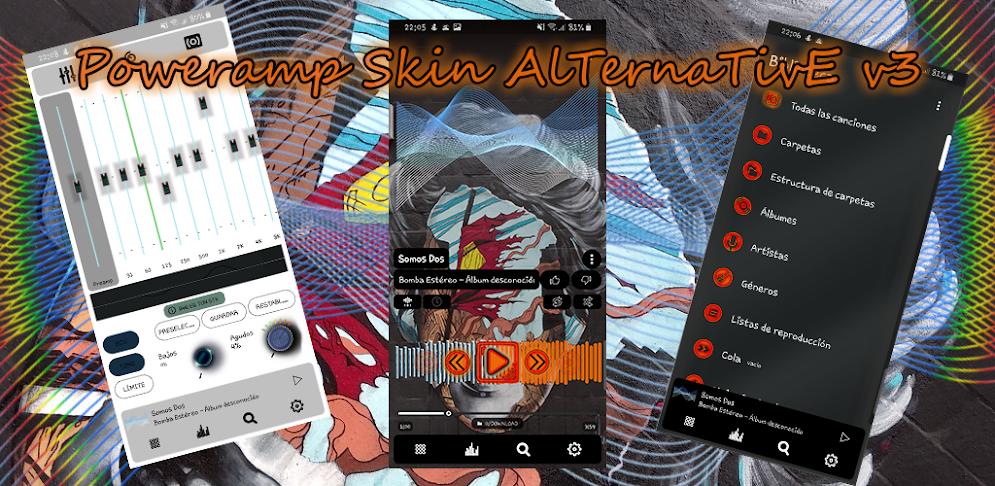 Poweramp Skin v3 Alternative APK v  1