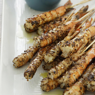 Salt and Pepper Shrimp Skewers