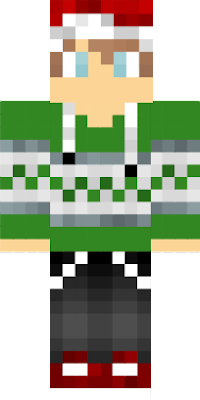 Just remade this skin in green normaly it is red (This (original) skin was not made by me!)