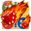ludo fire dice game lucky free icon