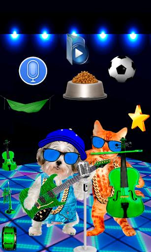 話猫対犬を歌います