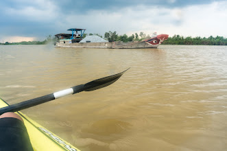 Photo: I don't like the eyes of the Southern & Mekong delta boat much... the Central VN boats have much nicer eyes...