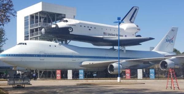 Centro Espacial da NASA em Houston, Texas