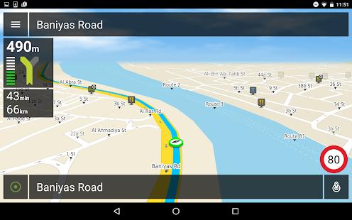 Connect Navigation - Free GPS screenshot