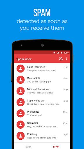Truemessenger - SMS Block Spam screenshot 3