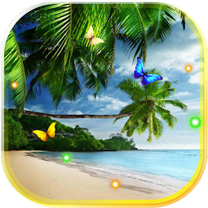 Beach palm tree live wallpaper android apps on google play - Palm tree wallpaper for android ...