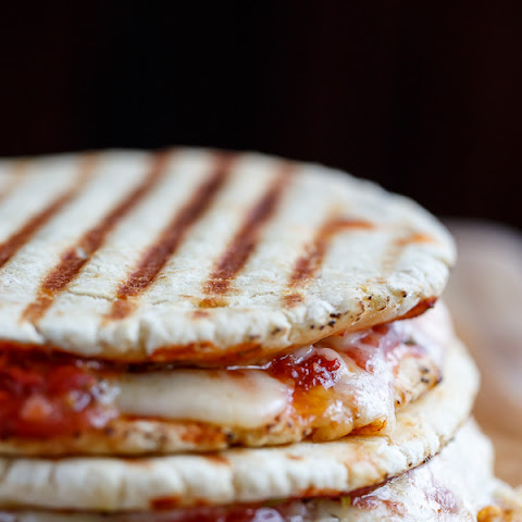 Grilled Pizza Panini Sandwich Recipes — Dishmaps
