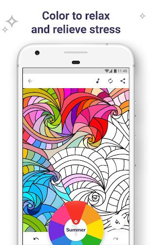 Coloring Book for Me & Mandala Android App Screenshot