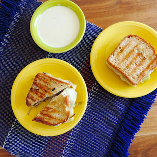 Del Real Pork Chile Verde Grilled Cheese with Poblano Chiles