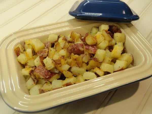 Rosemary-blue Cheese Potatoes Recipe