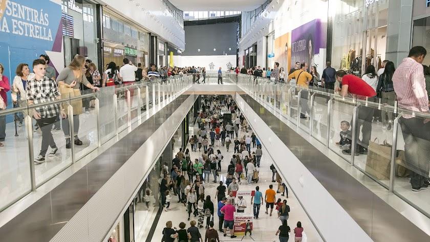 Imagen de archivo del centro comercial.