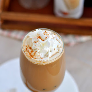 Horchata Iced Coffee Cocktail Recipe