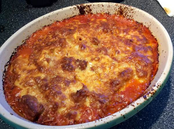 Easy Cheesy Tortellini Casserole Recipe