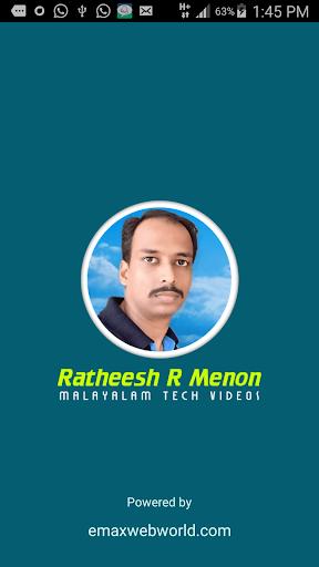 Ratheesh R Menon