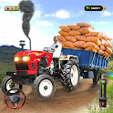 Tractor Trolley Drive Offroad icon