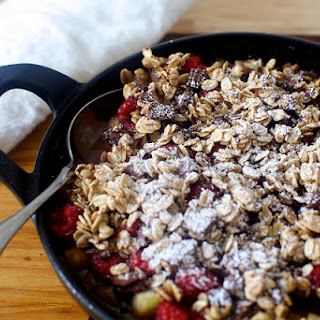 Chocolate Oat Crumble.