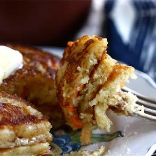 Corn Carrot Pancakes