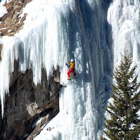 by Eric Abbott - Sports & Fitness Climbing