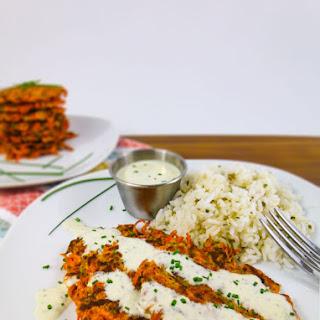 Zucchini & Carrot Fritters.