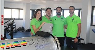 Equipo de fisalde con Paola Sosa, Ernesto Jover, Pablo Sánchez y Paco González, de izquierda a derecha.