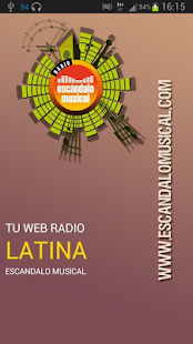 Radio Escandalo Musical - App- miniatura screenshot