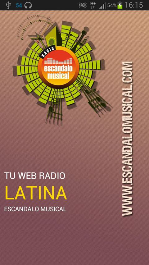 Radio Escandalo Musical - App- screenshot