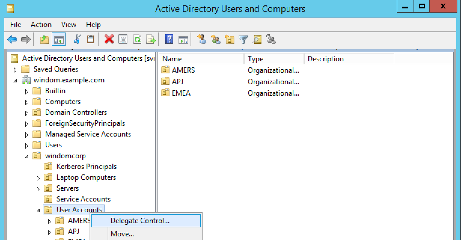 Setting Up An Active Directory Datastore In Openam Forgerock Forum