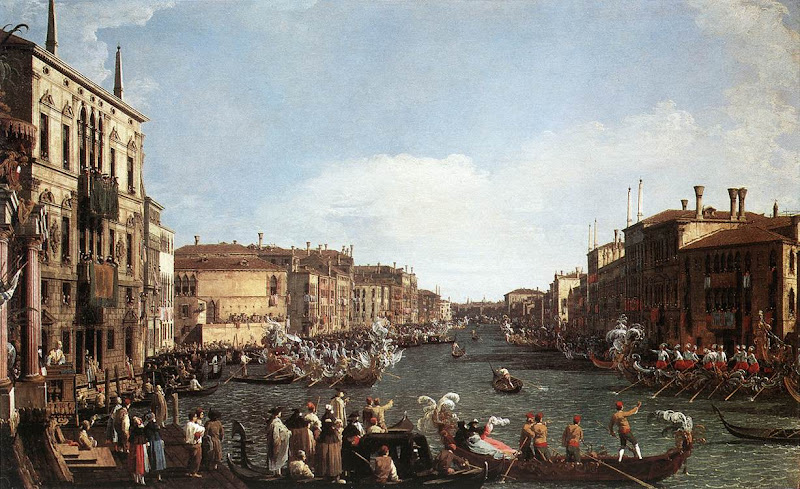 Photo: Regatta on the Grand Canal