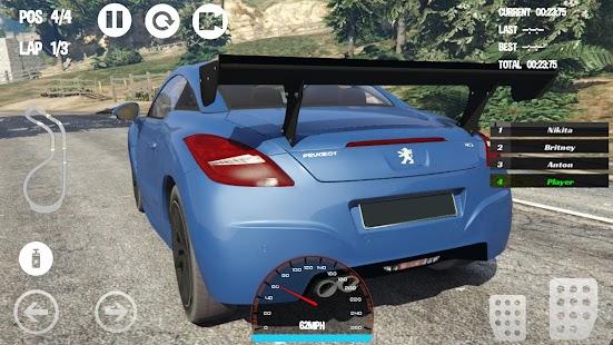 Car Racing Peugeot Game