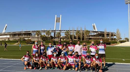 Juanjo Segura felicita a 'Atletas de Almería'