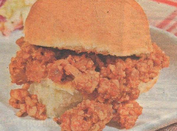 Spicy Turkey Sloppy Joes Recipe